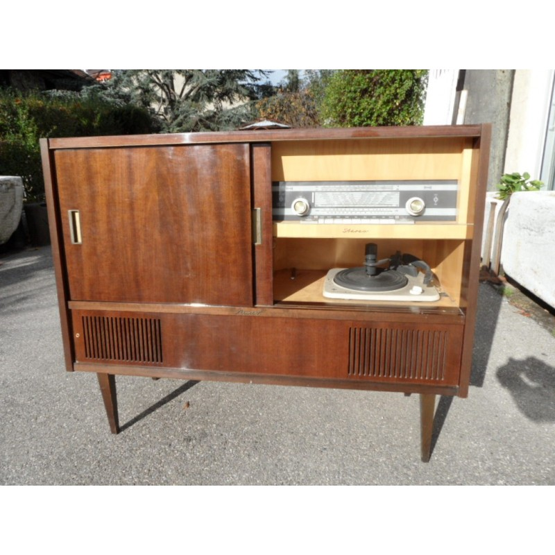 Ancien Meuble Tele Hifi 1960 Maison Forain