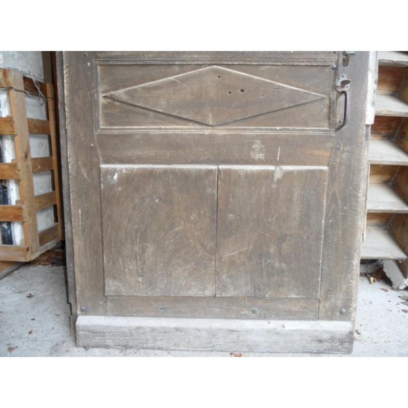 Ancienne porte d 39 entr e en noyer directoire maison forain for Entree maison ancienne