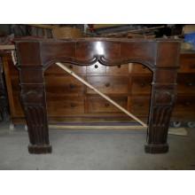 Cheminée Louis XIV en bois